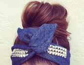 jewels,studs,bandeau,hair accessory,hair bow,Accessory,jeans,hat,headwrap,bun