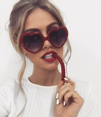 sunglasses lolita lolita sunglasses red sunglasses red