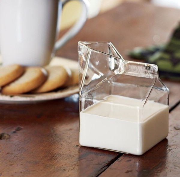 home accessory fred and friends dinnerware milk food glass origami hipster wishlist