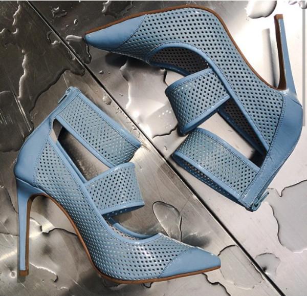 jeffrey campbell high heels blue high heels sky blue pointed toe heels