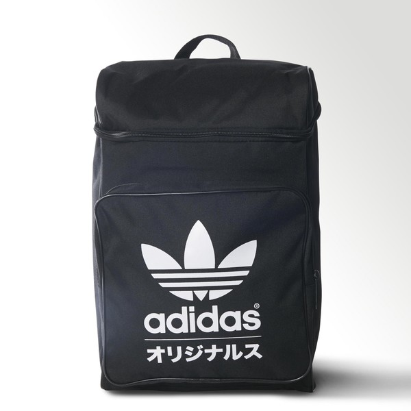 11bea2adadc last one! ADIDAS ORIGINALS TYPO CLASSIC BACKPACK BLACK ...