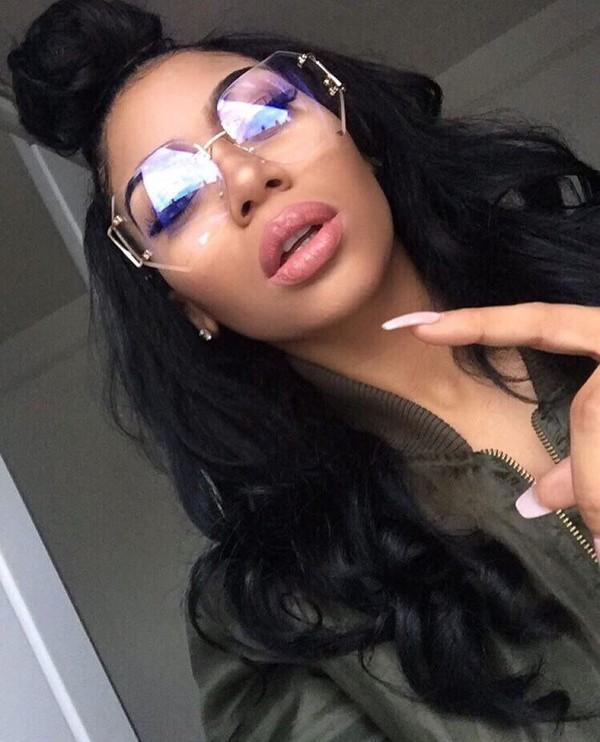 e69ec7dc8ae sunglasses mirrored sunglasses rimless glasses rimeless clear frames clear  glasses clear