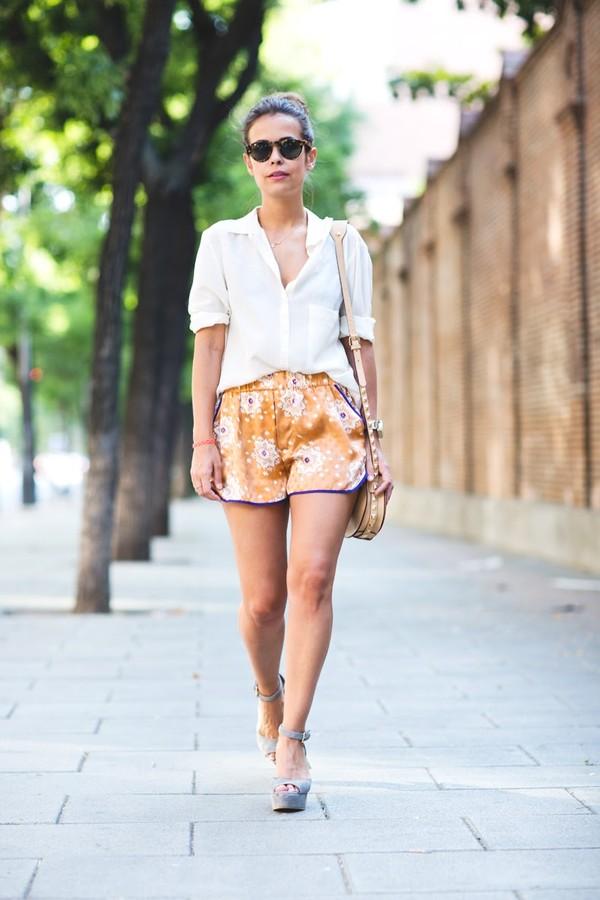 26ee3fd2d SHORTS SEDA JACQUARD - Shorts - Mujer | ZARA España