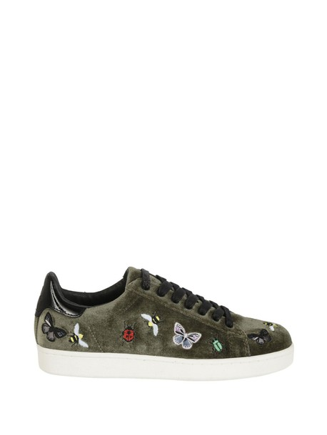 M.O.A. embroidered sneakers velvet shoes