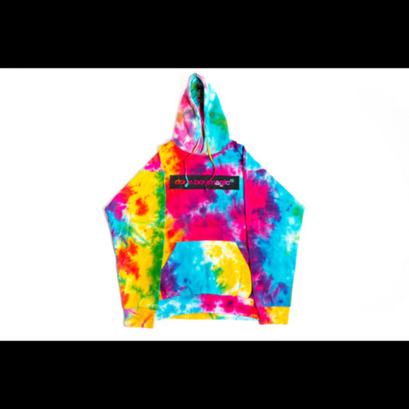 colorful dope magic hoodie