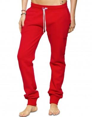 Jogging rouge sweet pants slim femme