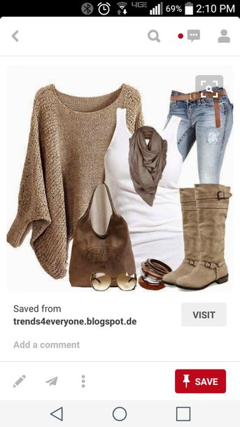 cardigan beige sweater