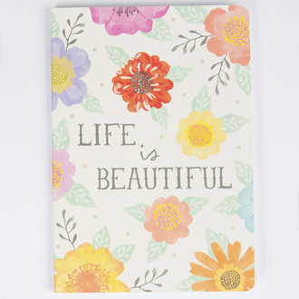 home accessory notebook stationery gift ideas flowers floral print pattern