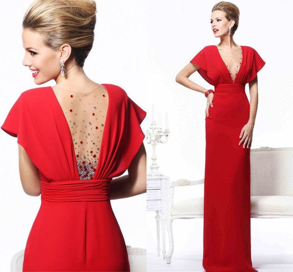 evening dress red evening dress women dress party dress