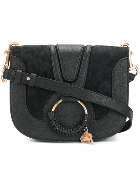 See by Chloe women bag shoulder bag cotton black