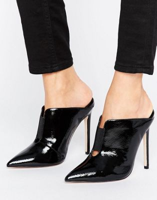 ASOS POISON Pointed Mules at asos.com