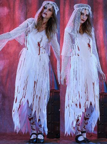 mariee zombie halloween