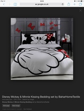 home accessory,mickey minnie kiss sheets,mickey mouse bedding,mickey minnie bedspread
