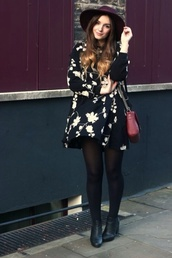 dress,floral,baby doll