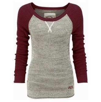 sweater burgundy burgundy sweater baseball tee