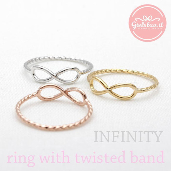 jewels jewelry infinity ring ring infinite ring anniversary ring forever ring girlfriend gift