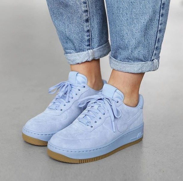 nike shoes air force blue. shoes nike air force 1 blue baby