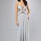 Opal chiffon encrusted cut out prom dress - unique vintage - prom dresses, retro dresses, retro swimsuits.