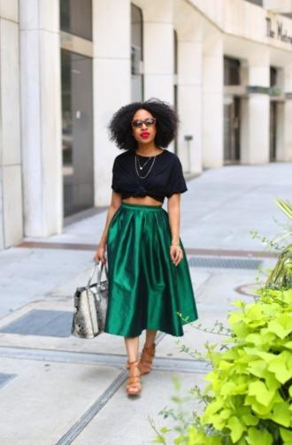 mattieologie blogger skirt t-shirt shirt shoes bag sunglasses