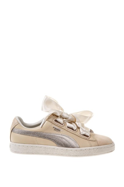 PUMA SELECT heart sneakers satin shoes