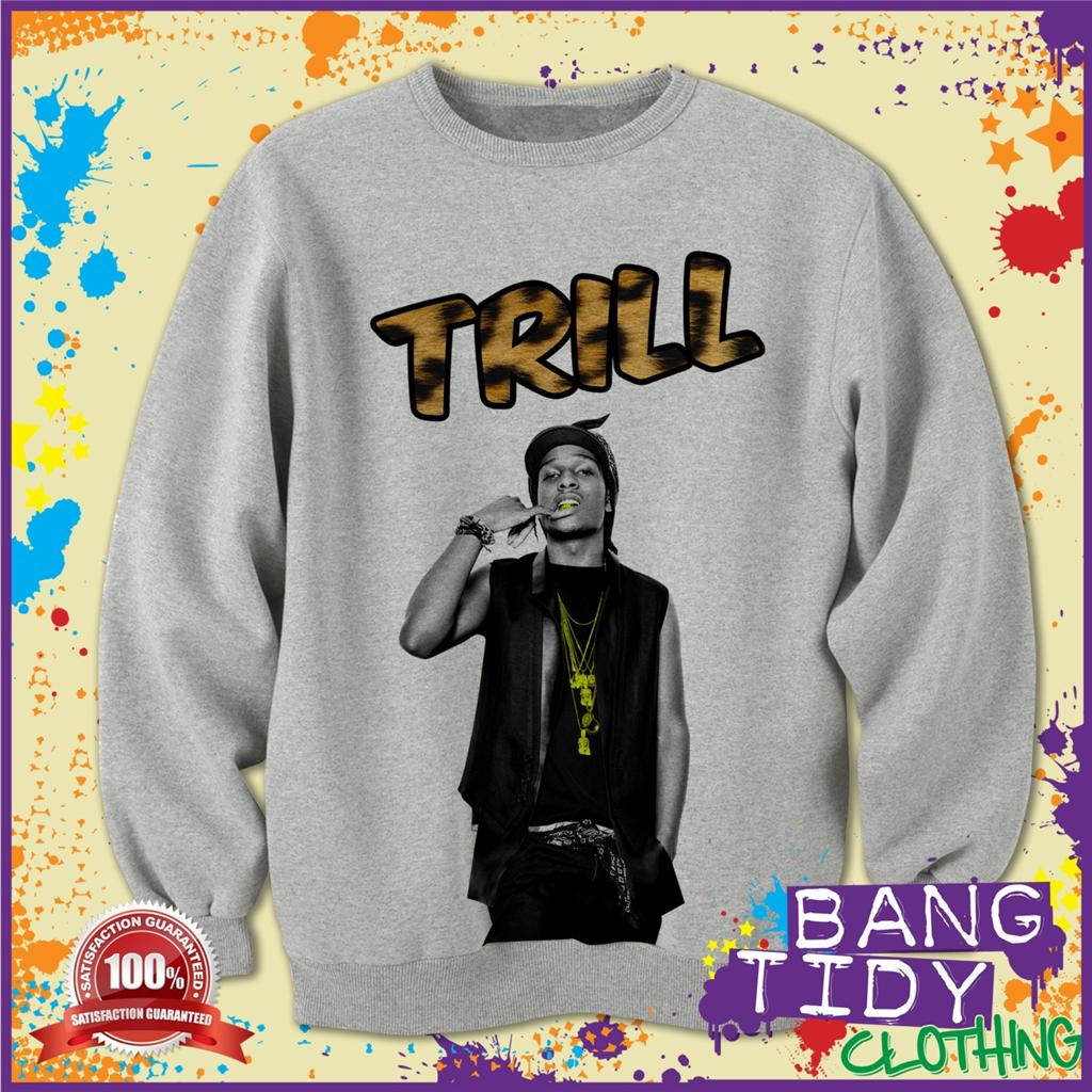 Asap Rocky Clothing Brand A AP ASAP Rocky Inspired Trill
