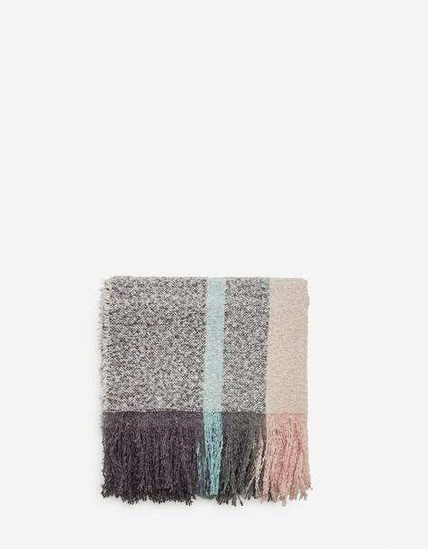 Stradivarius pastel scarf grey