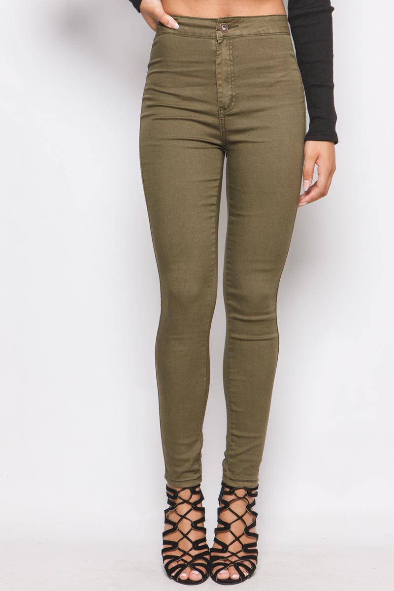 High waisted denim jeans uk