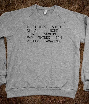 I'm Pretty Amazing - Fancy Inu - Skreened T-shirts, Organic Shirts, Hoodies, Kids Tees, Baby One-Pieces and Tote Bags Custom T-Shirts, Organic Shirts, Hoodies, Novelty Gifts, Kids Apparel, Baby One-Pieces | Skreened - Ethical Custom Apparel