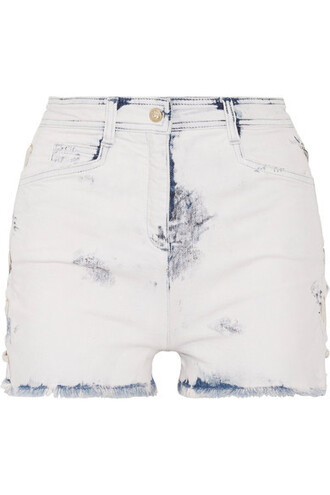 shorts denim shorts distressed denim shorts denim light lace