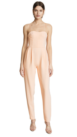 jumpsuit peach