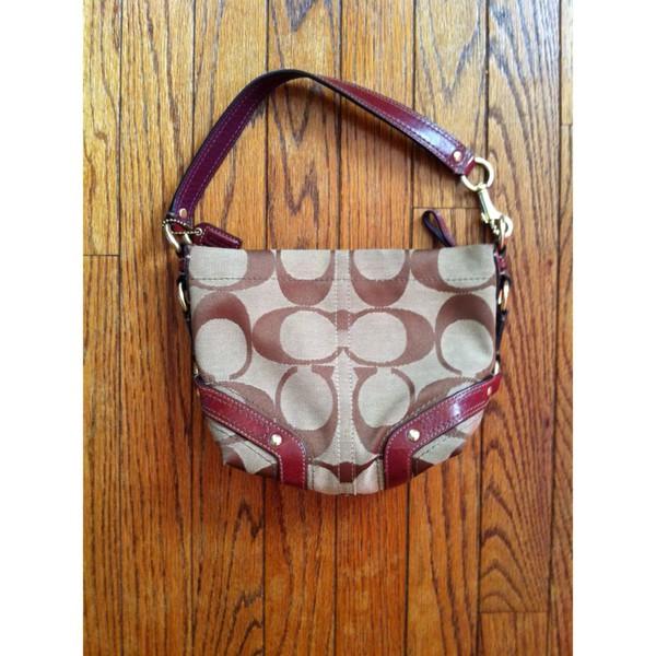 bag coach handbag poshmark purse