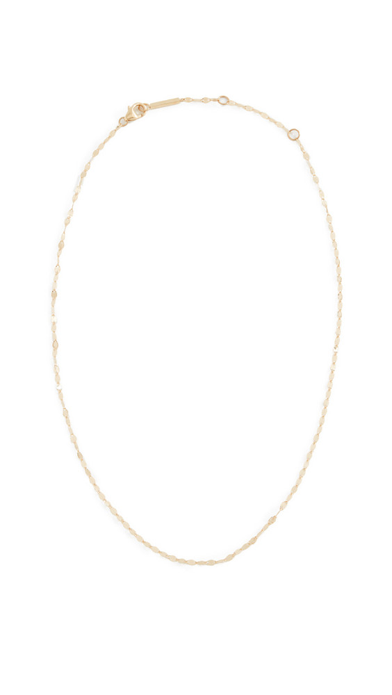 Lana Jewelry 14k Blake Chain Choker Necklace in gold / yellow
