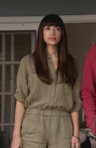 new girl hannah simone romper