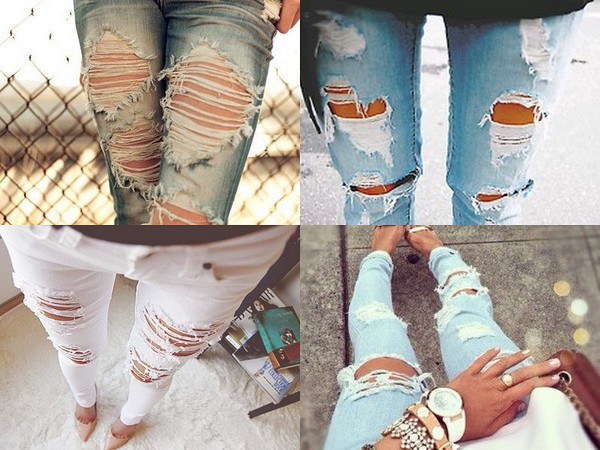 jeans ripped jeans ripped