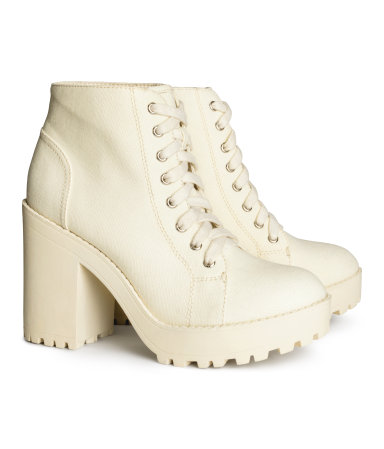 H&M Platform Boots $39.95