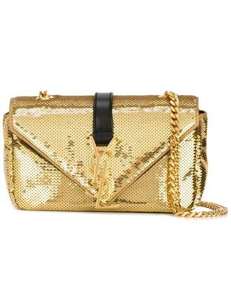 baby bag chain bag metallic