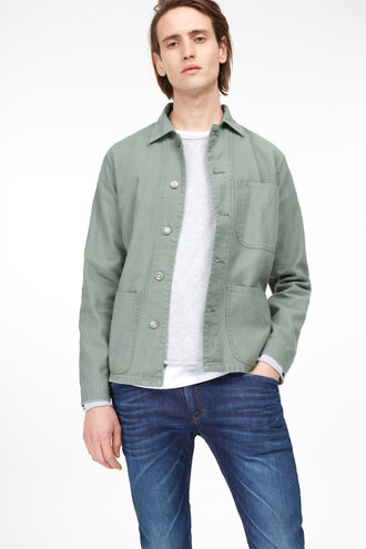jacket army green jacket cotton