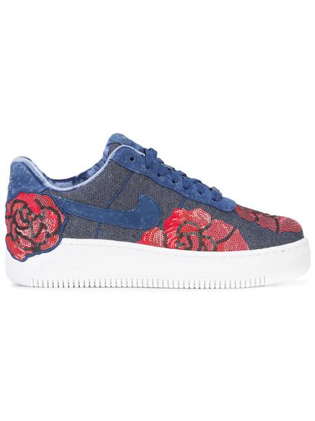Nike women sneakers cotton blue shoes