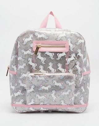 Skinnydip | Skinnydip Unicorn Backpack at ASOS