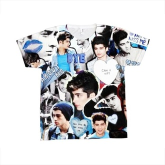 t-shirt zayn malik one direction tees niall horan liam payne