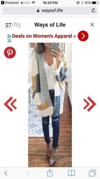 sweater cardigan pinterest pinterest outfit long sleeves knitted sweater