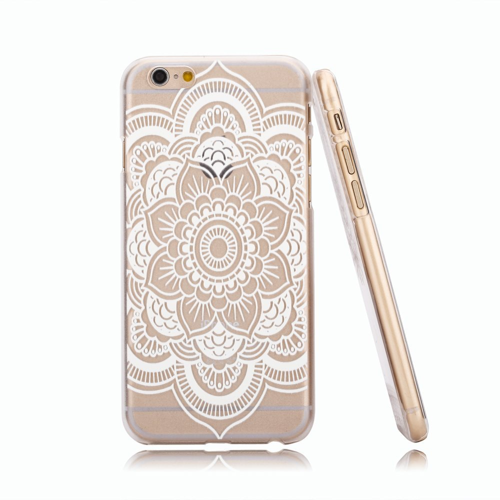 Amazon.com: iphone 6 case, hundromi(tm) plastic case cover for iphone 6 henna ojibwe dream catcher ethnic tribal (for iphone 6 4.7 inch screen): cell phones & accessories