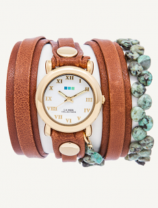 Shop for Handmade Wrap Watches | Women's Watches | La Mer Collections' Unique Timepieces