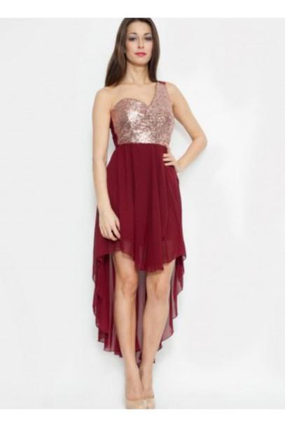 dress sequin top high low skirt high low dress