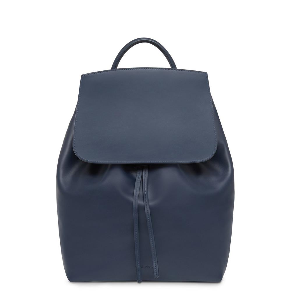 Mansur Gavriel Calf Men's Backpack - Blu