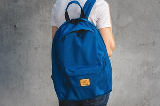 bag daypack streetstyle trendy blue sporty royal blue backpack