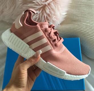 shoes pink adidas adidas nmd r1 pink