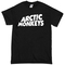 Arctic monkeys black t-shirt - basic tees shop