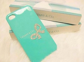 tiffany jewels tiffany blue gold iphone case