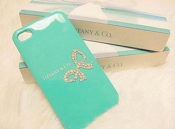 tiffany tiffany blue gold jewels iphone cover